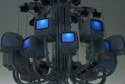 Monitor Kronleuchter