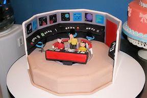 Star Trek Kuchen